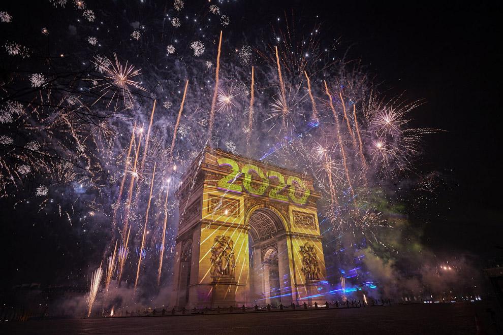 Hogyan ünnepelte a világ a 2020-as új évet