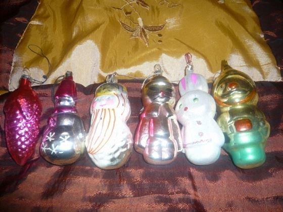 Ёлочные игрушки из советского детства