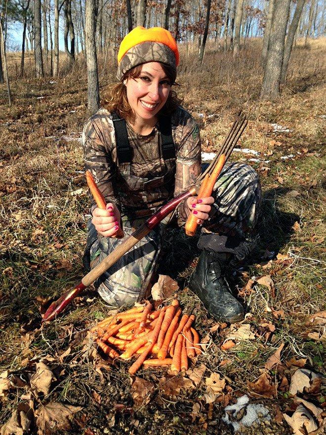 Веганы и вегетарианцы на охоте с добычей