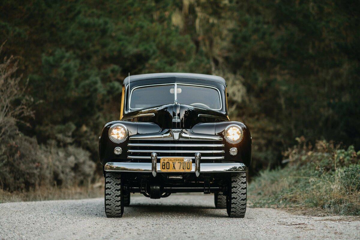 Первый роскошный внедорожник Ford Marmon-Herrington Super Deluxe 4x4