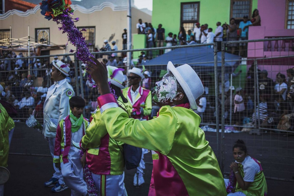 Праздник Tweede Nuwe Jaar в Кейптауне