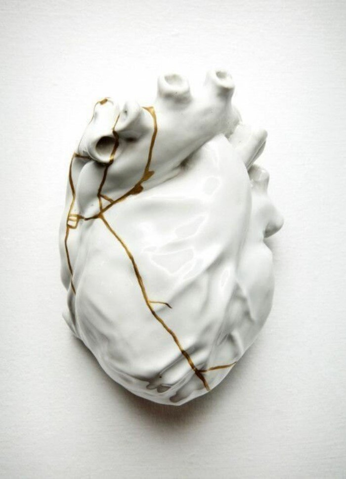 Когда скульптор обожает золото