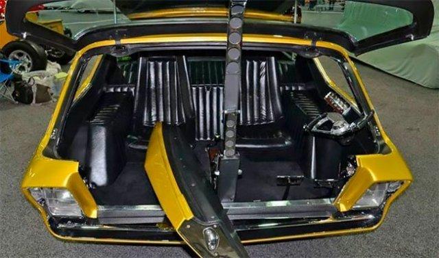 Эффектный пикап Dodge Deora 1967 года
