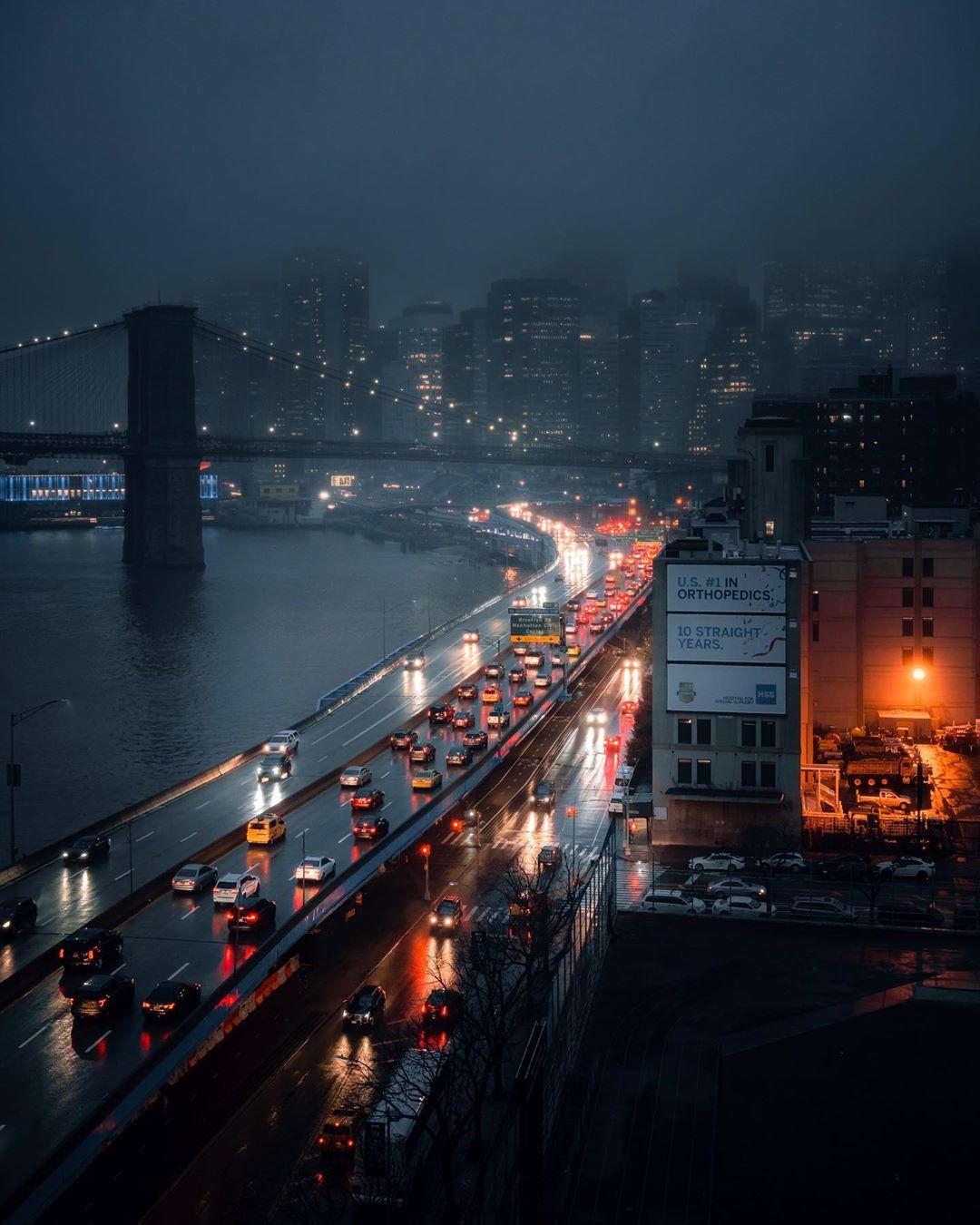 Кинематографические уличные снимки от Николаса Миллера