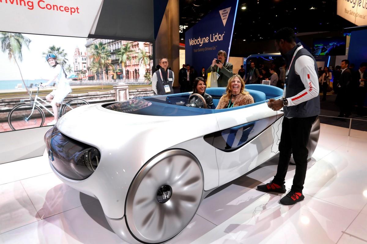 Международная выставка Consumer Electronics Show 2020 в Лас-Вегасе (ФОТО)