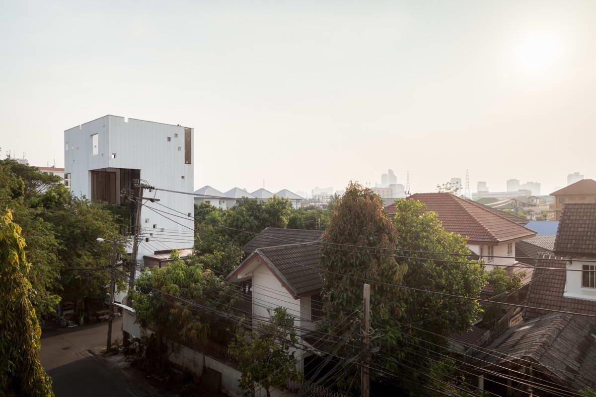 Необычный скульптурный дом в Таиланде