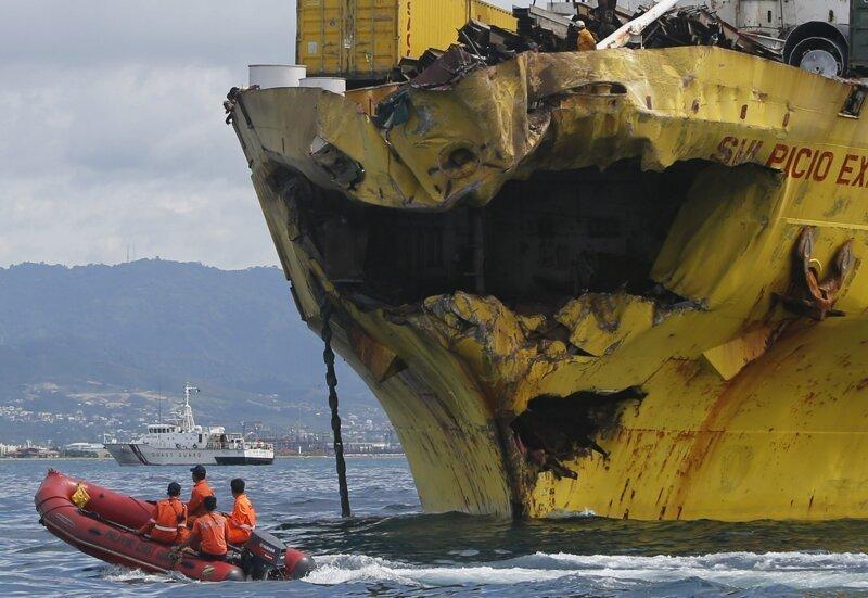 Тяжелая судьба невезучих морских судов (ФОТО)