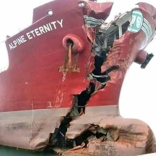 Тяжелая судьба невезучих морских судов