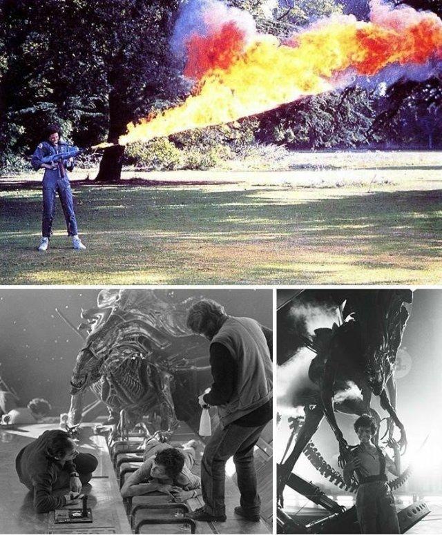 Интересные кадры со съемок известных фильмов