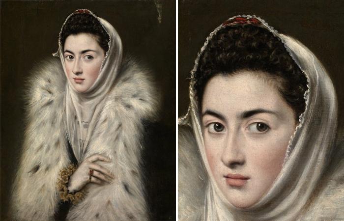 Тайна знаменитой картины Дама в меховой накидке