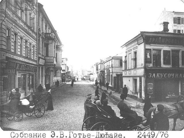 Москва в начале прошлого века на снимках