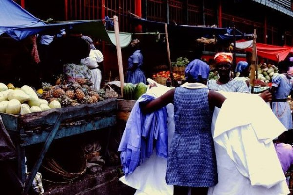 Повседневная жизнь Гаити в 1970-е на снимках