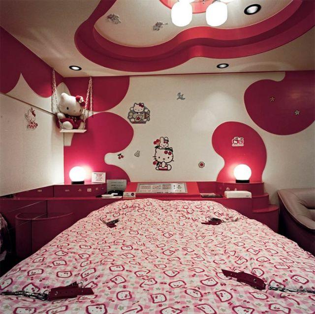 Дизайны японских гостиниц любви