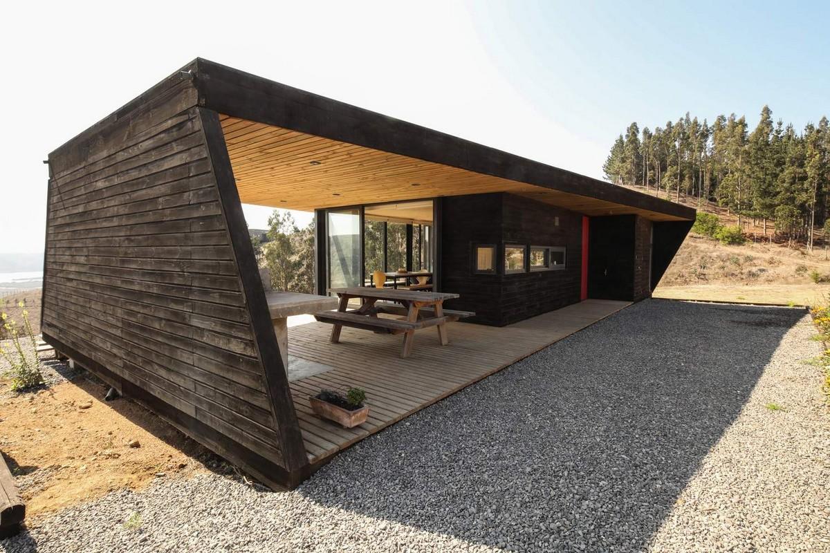 Дом для любителей водных видов спорта в Чили