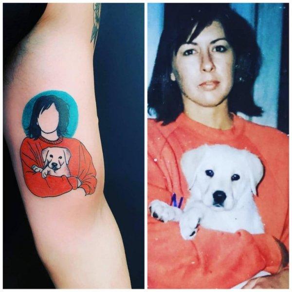 Подборка интересных татуировок с историей