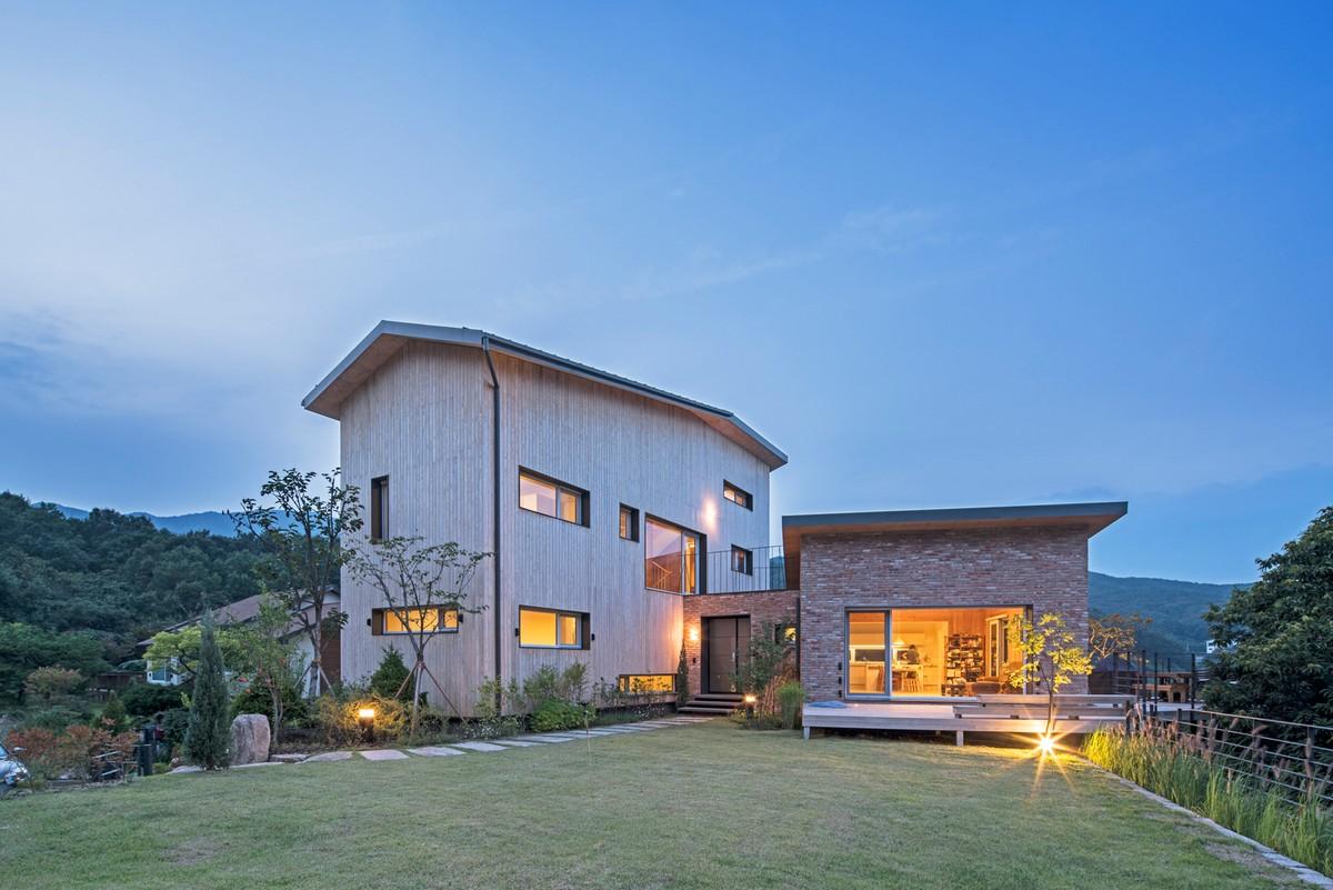 Семейный дом в Южной Корее