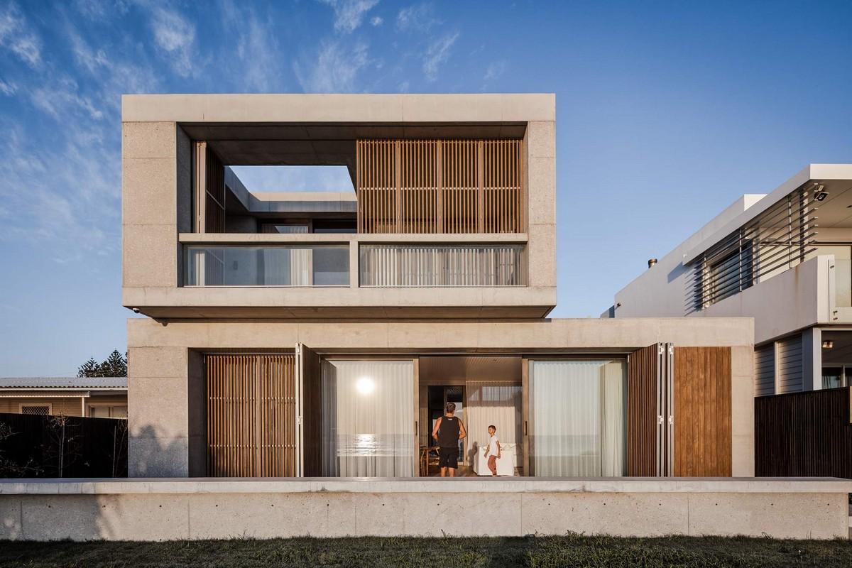 Пляжная резиденция с дворами в Австралии