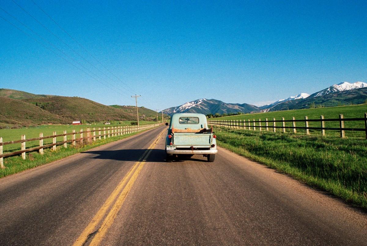 Ностальгический взгляд на современную Америку от французского фотографа