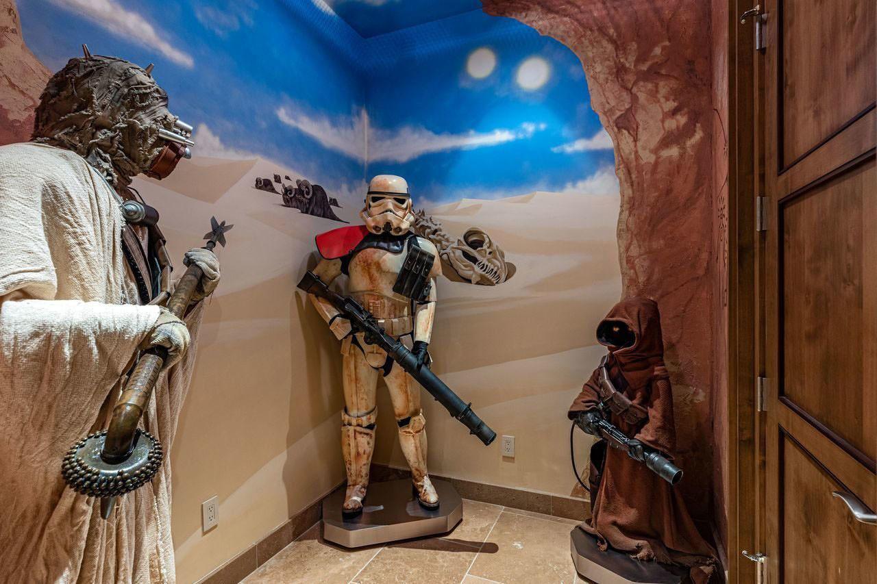 Дом в стиле Звёздных войн в Калифорнии выставлен на продажу