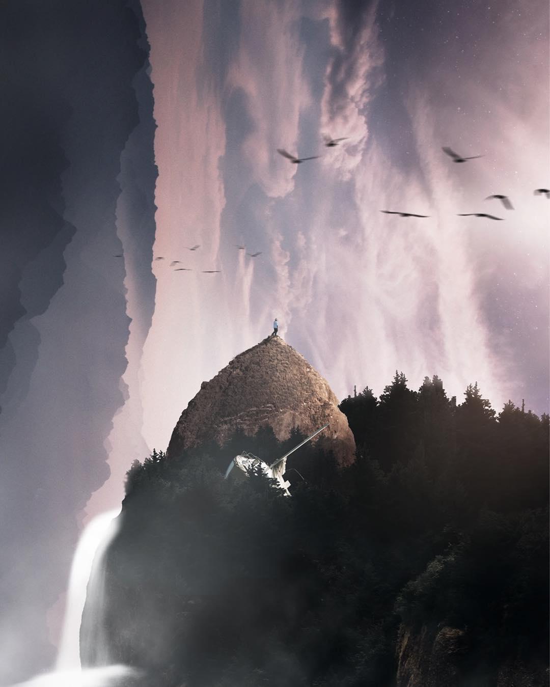Причудливые и сказочные фотоманипуляции Аарона Эллиота