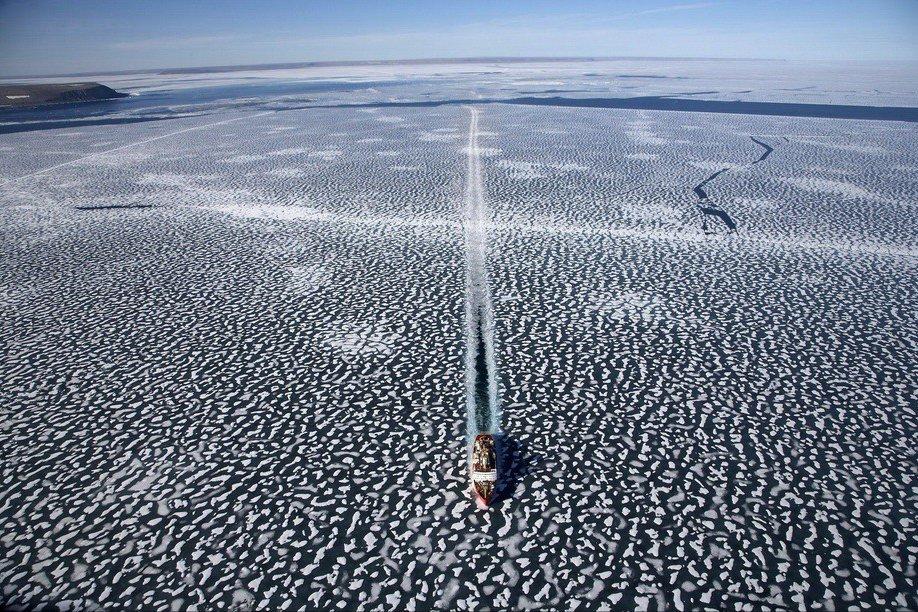 Земля, увиденная с неба, в проекте французского фотографа