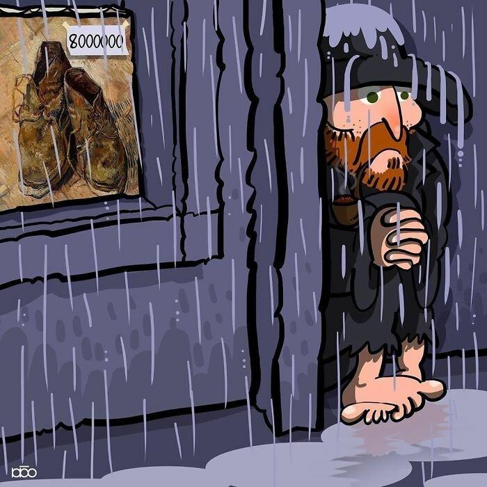 Жизнь Ван Гога глазами художника из Ирана