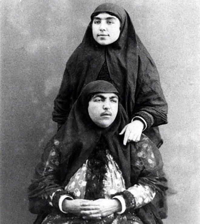 Принцесса, которая считалась символом красоты в Персии в 1900-х годах