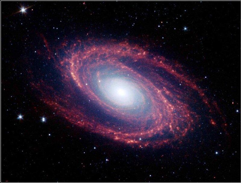 Знаковые снимки Вселенной с телескопа Спитцер