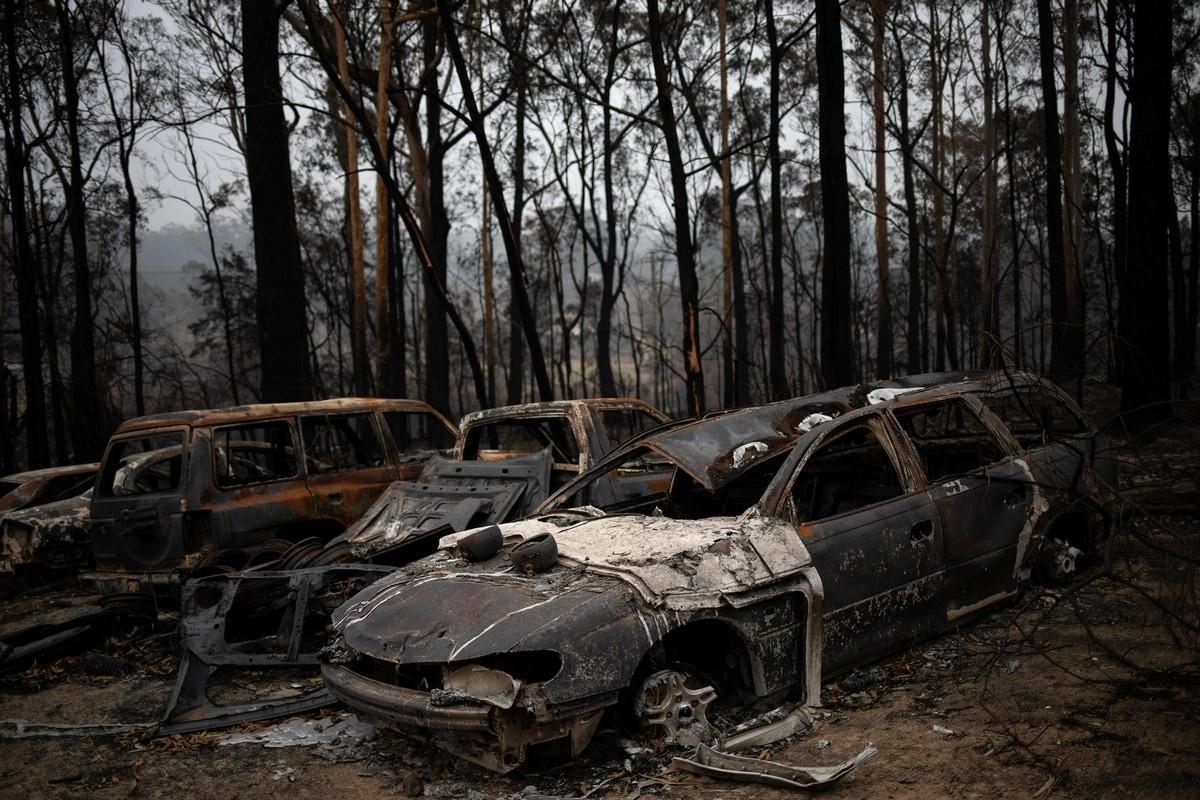 Фотограф документирует последствия пожаров в Австралии
