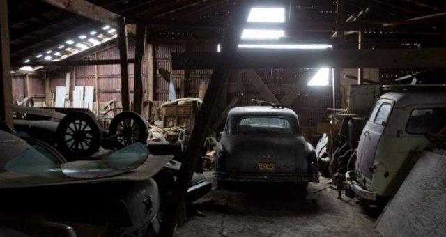 Город-призрак Шанико, наполненный классическими автомобилями