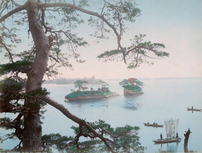 Невероятные цветные фотографии Японии XIX века