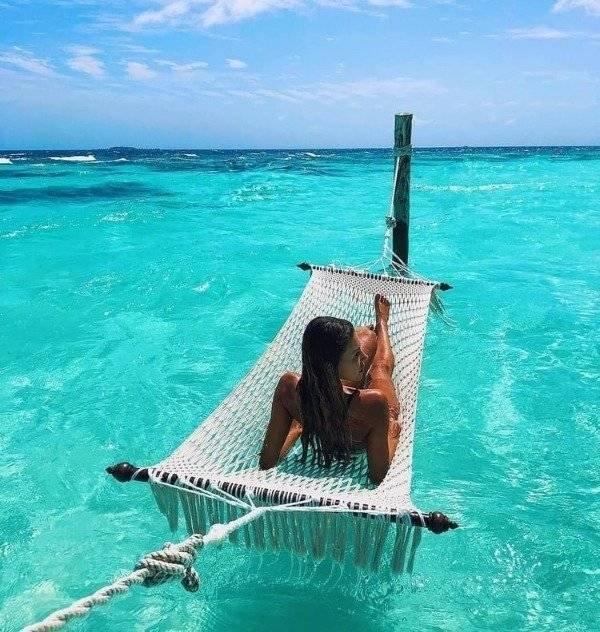 Приятные фотографии с гамаками для тех, кто хочет почувствовать отдых