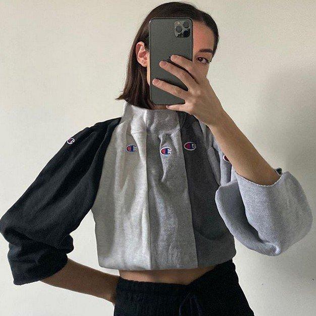 Вторая жизнь старой одежды от Николь Маклафлин