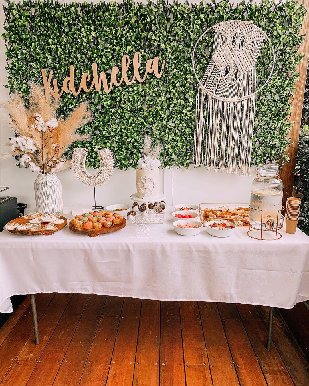 Мама устроила вечеринку в стиле Kidchella на 7-летие дочери