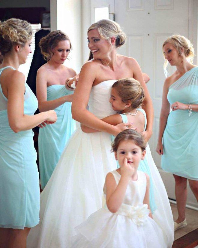 Забавные случайные свадебные фотобомбы