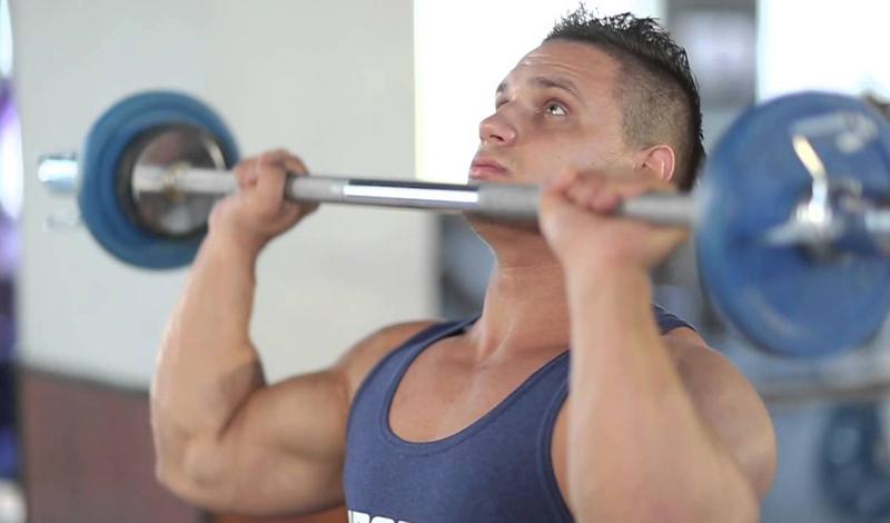 5 лучших упражнений для мощных плеч (ФОТО)