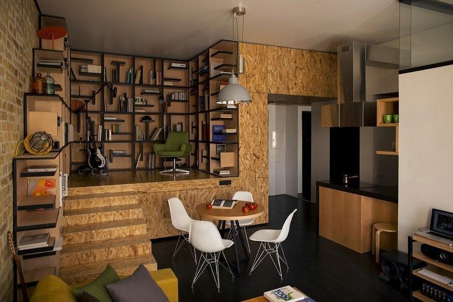 Интересные дизайны интерьера в новых квартирах