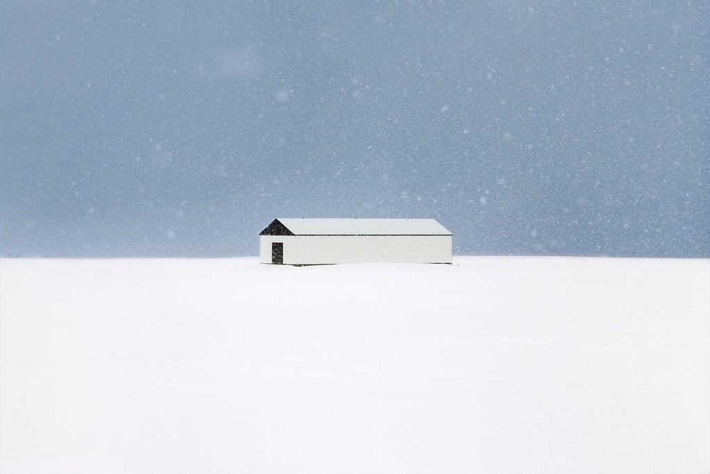 Дождь и снег на снимках Кристофа Жакро
