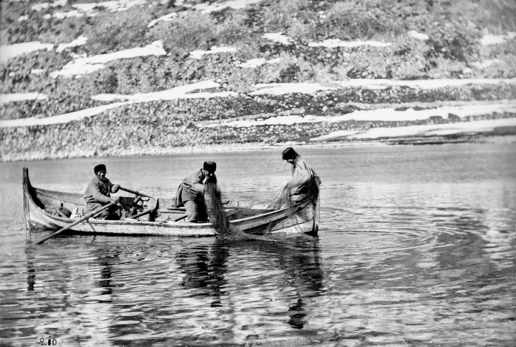 Лапландия 19-го века на архивных снимках Софуса Тромгольта