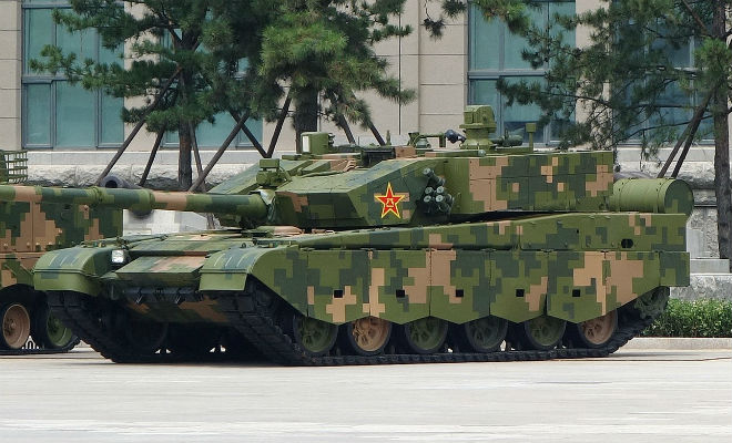 Насколько велика танковая армада Китая
