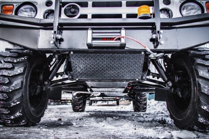 Toyota Mega Cruiser превратили в необычный санитарный автомобиль