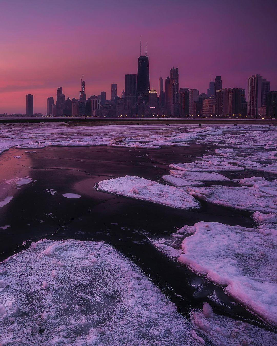 Улицы и архитектура Чикаго на снимках Эрика Марталера