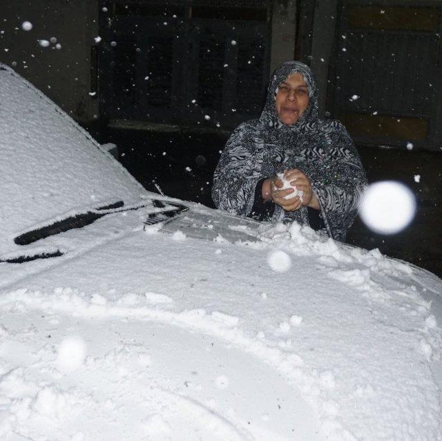 В Багдаде выпал снег впервые за 12 лет