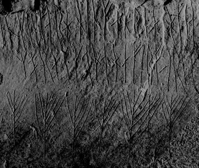 Где остались граффити, которые рисовали викинги