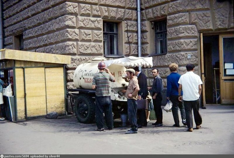 Квас и бочки с ним в СССР