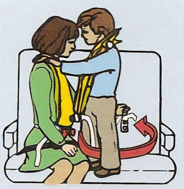 15 корявых карточек безопасности из самолётов