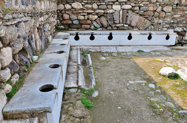 Интересные факты про дневнеримские общественные туалеты