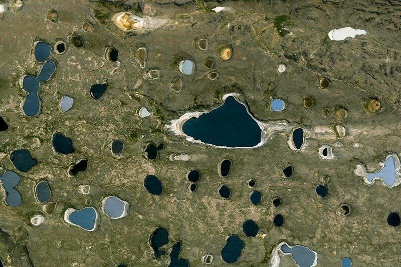 Красивые снимки со спутника из новой коллекции Google Earth