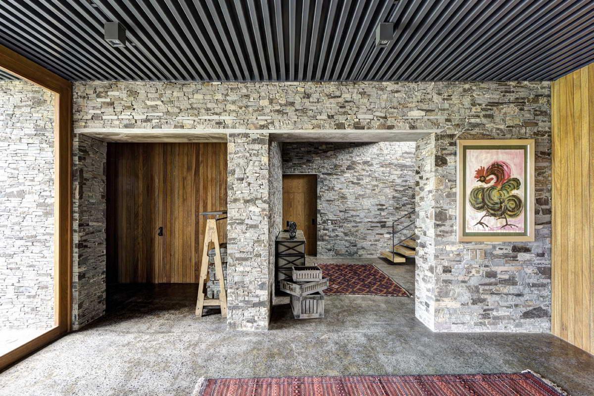 Необычный функциональный дом в Мексике