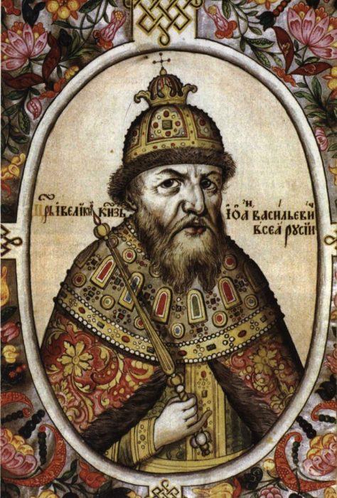 Царь Иван Грозный и его жены